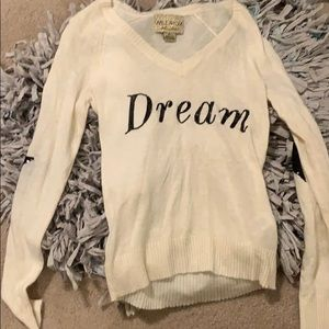 Wild fox white label sweater RARE